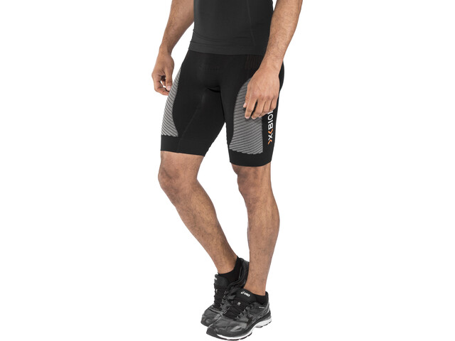 X-Bionic M's Marathon Pants Short Black/Pearl Grey